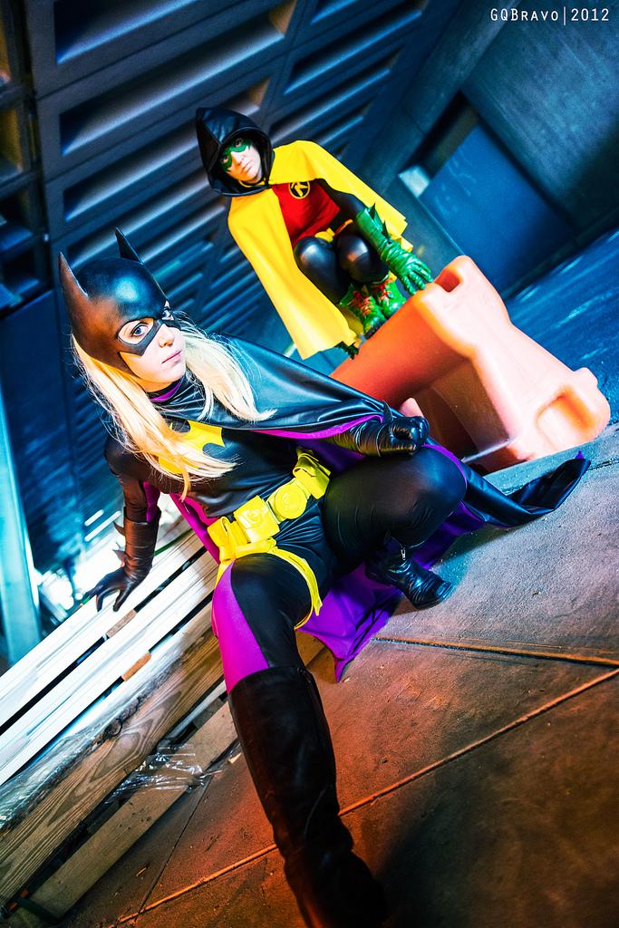 Patrol Squad - Batgirl and Robin by Love-Joker