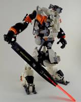 B2-X5 Heavy Mech by marcomarozzi