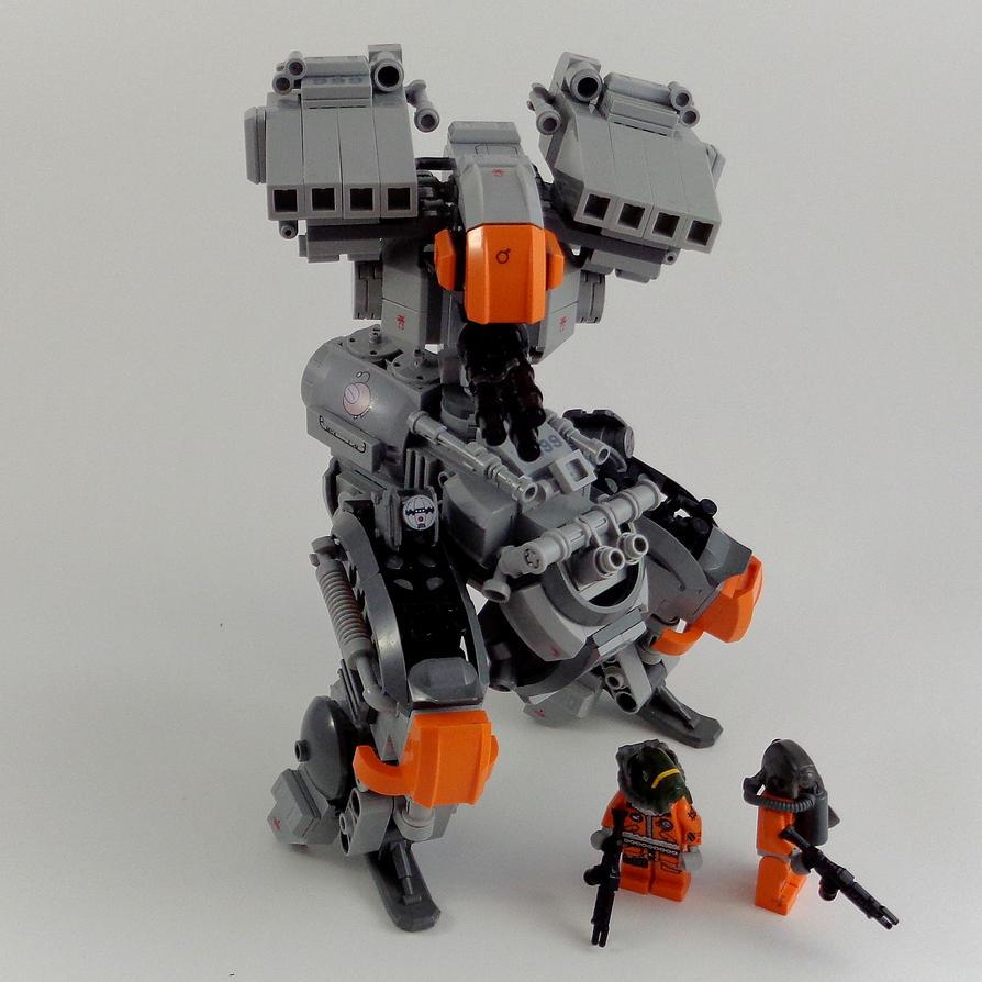 M30 II Medium Mech by marcomarozzi