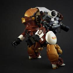 MK7.7 Big Boy Mech by marcomarozzi