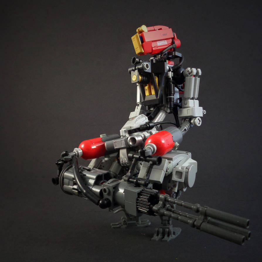 HUF-2 Assault Droid by marcomarozzi