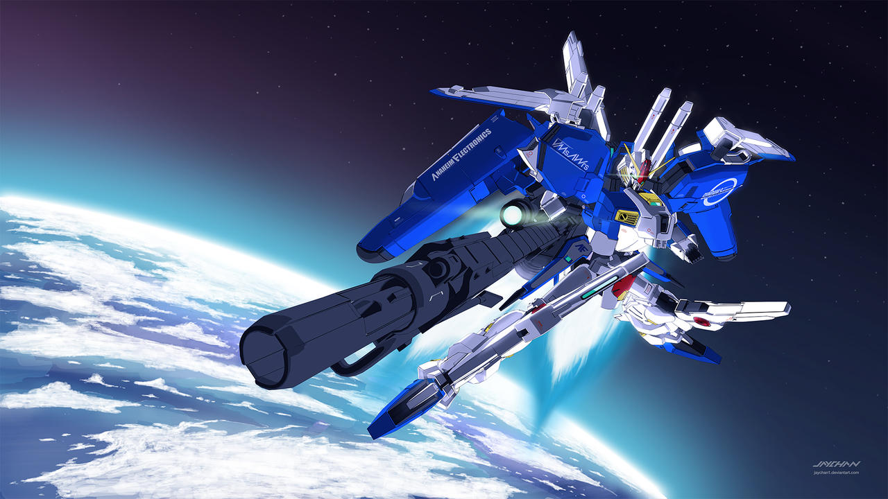 Ex-S Gundam Space version