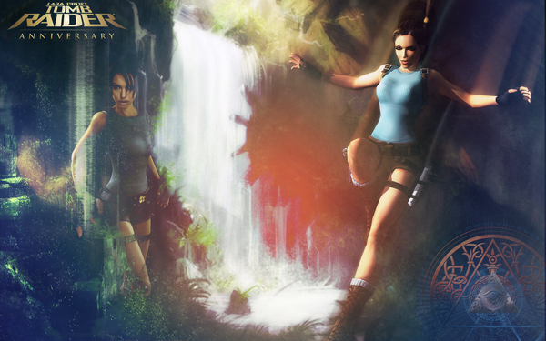 Tomb Raider Wallpaper by White-Magician