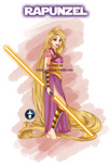Disney Jedi Princess Rapunzel