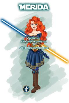 Jedi Disney Princess Merida