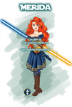 Jedi Disney Princess Merida