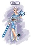 Jedi Disney Princess Elsa