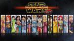 Disney Jedi mistresses Wallpaper