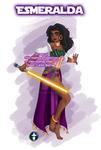 Jedi Disney Lady Esmeralda