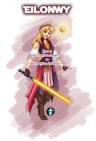 Jedi Disney Lady Eilonwy by White-Magician