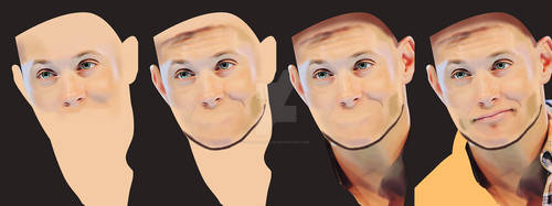Some steps of Jensen's Portrait
