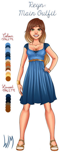 Reyn: Main Outfit