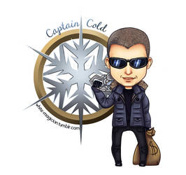 Chibi Captain Cold [LEGENDS OF TOMORROW]