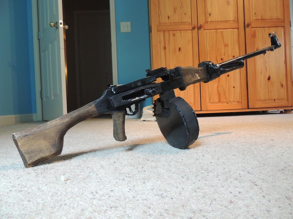 RPD Light Machine Gun Prop by Gun33boy on DeviantArt