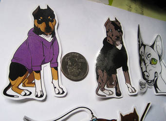 Selling Custom and Premade stickers by spacepitbull