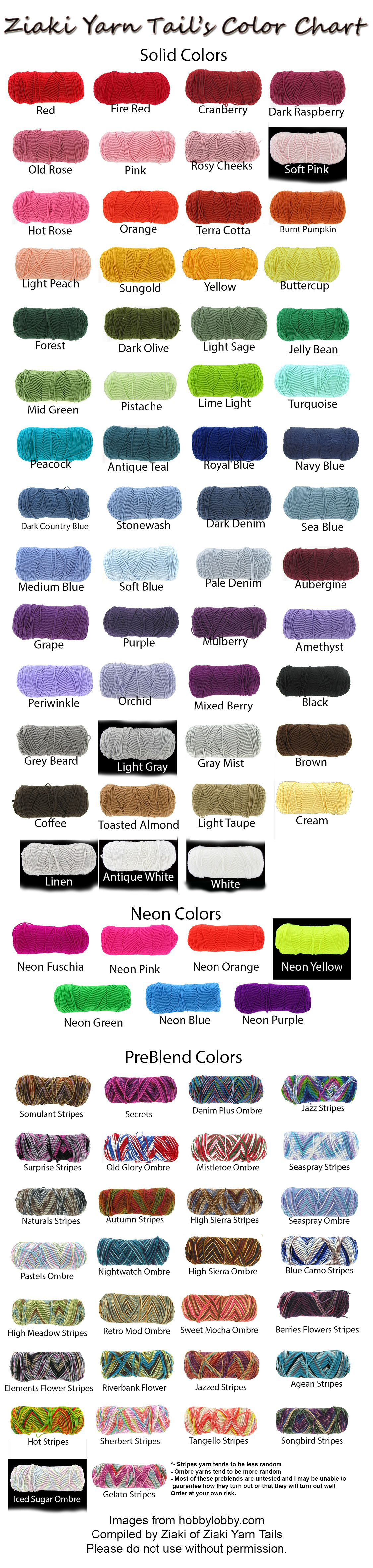 Yarn color chart frodo fullring co