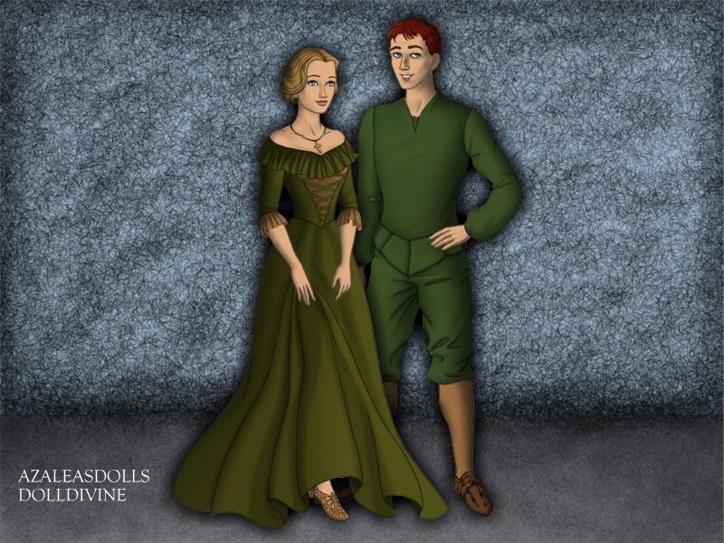 Quasimodo And Madellaine Quasimodo and M...