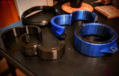 Printed cuff set