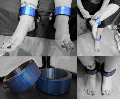 3D Printed Ankle Cuffs by EuphoricCreations