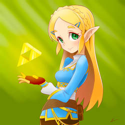Best Zelda yet~ by emiliosan