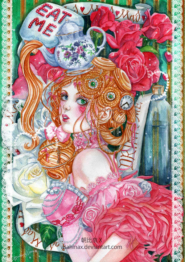 Mad Tea Time by AsahinaX