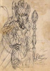 Contest Entry: Fataneh, The Mage Hulder Princess by miasahina