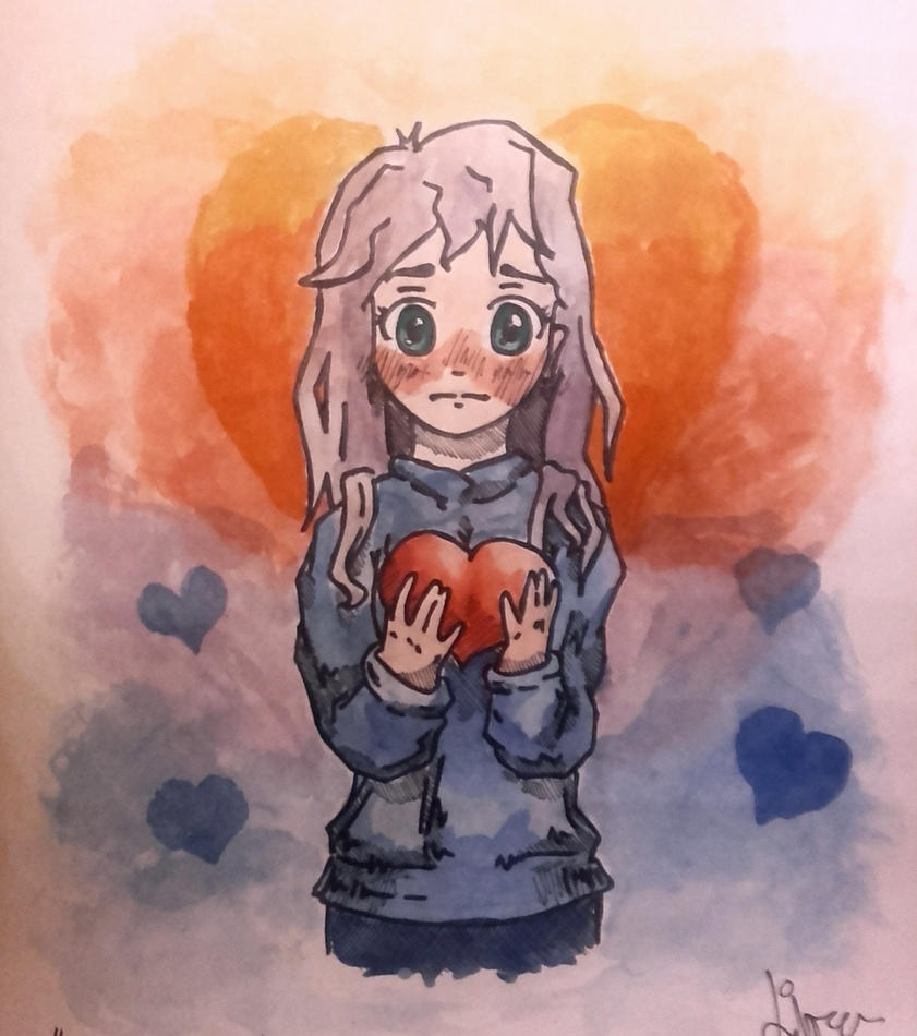 Sketched Love by watashi994