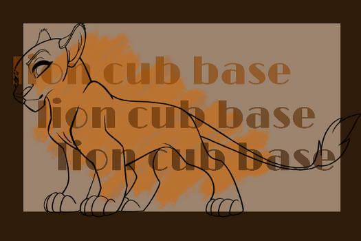 P2U Sassy Lion Cub
