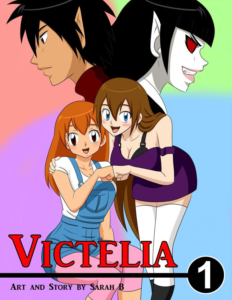 Victelia Manga Cover 1 by mekanomi111
