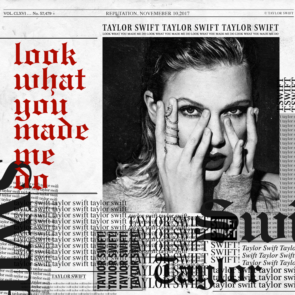 Image result for look what you made me do cover