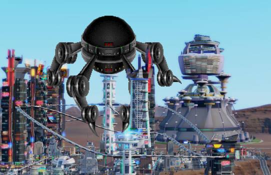 Monster Attack on Sim City