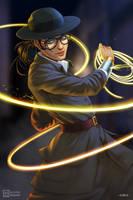 Wonder Woman Undercover by orangepiano