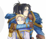 Varian and his son