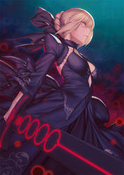 Saber Alter by Rotix102
