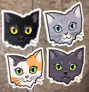 Ohio Cat Stickers