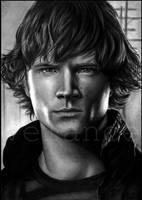 Sam Winchester by EvaKedves