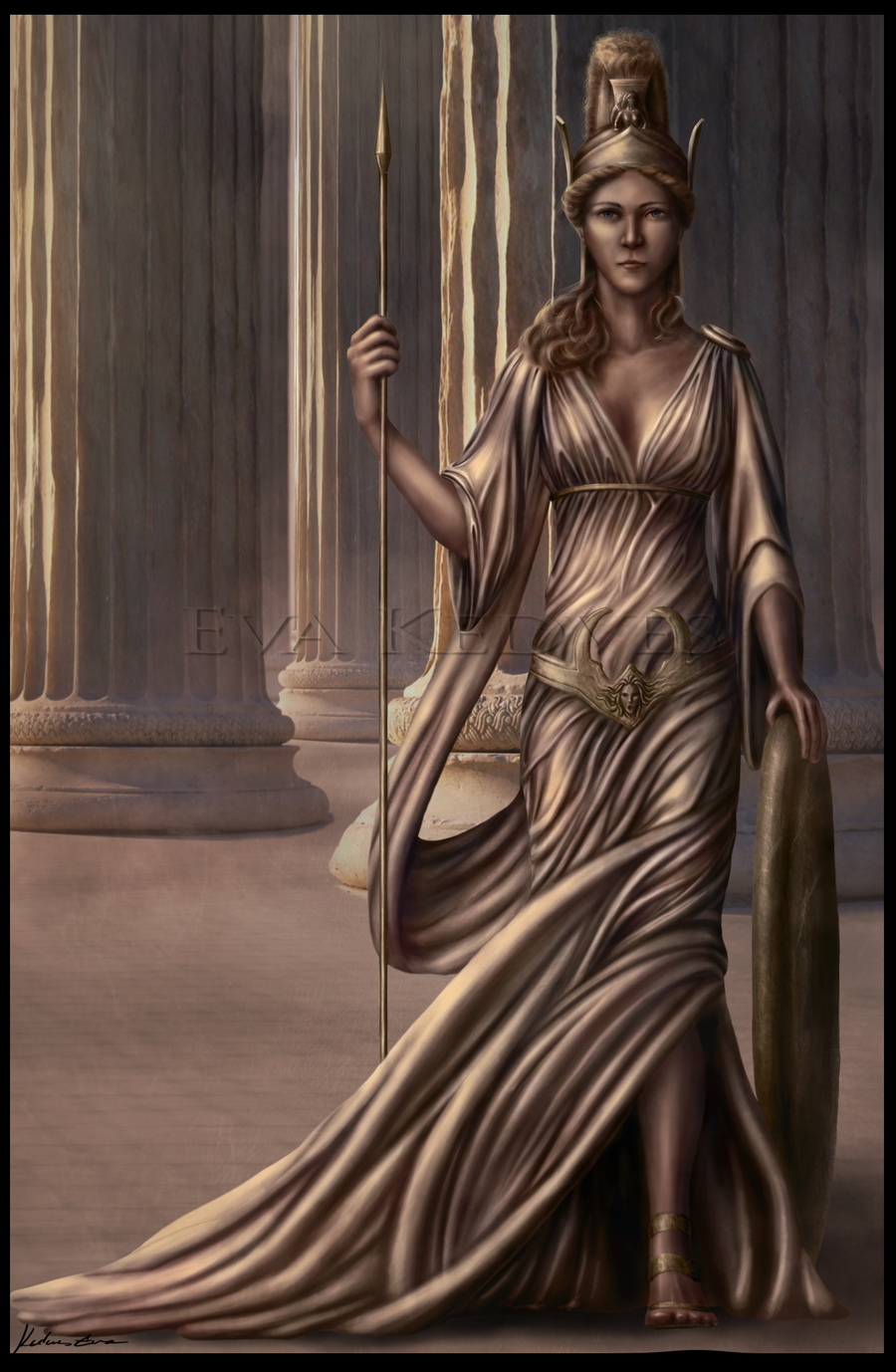 Athena by EvaKedves on DeviantArt