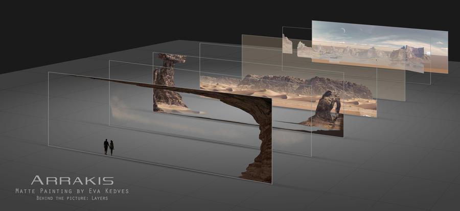 Arrakis- Layers by EvaKedves