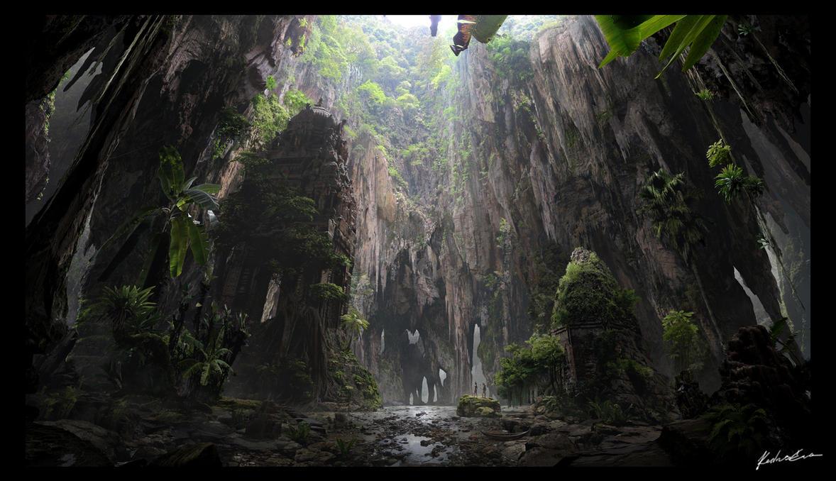 Hidden Passage by EvaKedves