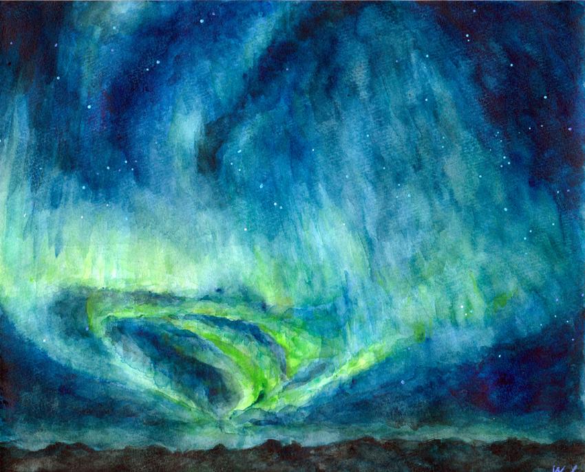 Aurora by bakatty