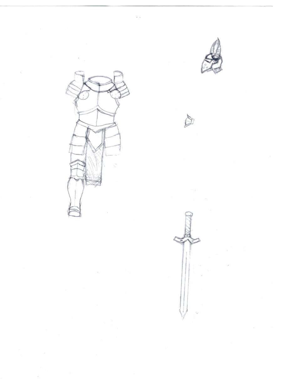 Medieval armor and weapons by avenger09 on DeviantArt