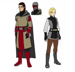 Star Wars: Revan and The Exile, In Colour