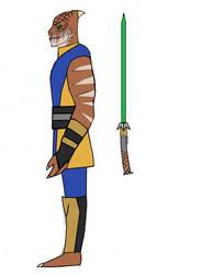 Scino Dineil The Trandoshan Jedi