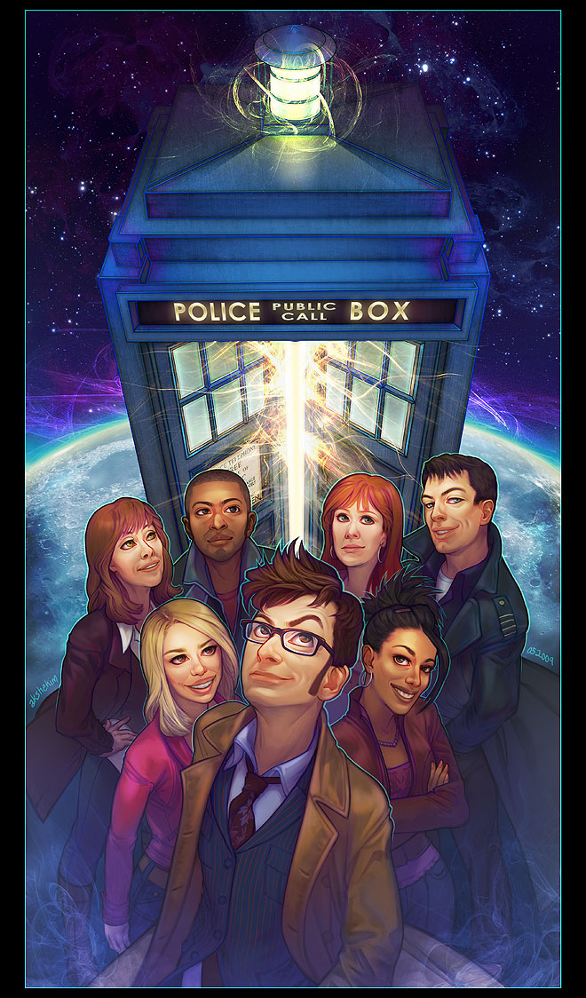 TEAM TARDIS. by questionstar
