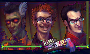 deadman, dork, doofus