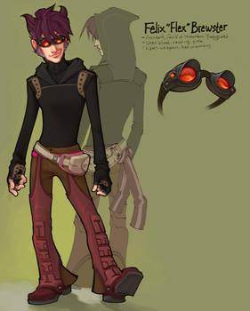 characterdesign:Flex Brewster