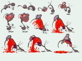 Barf Blood by Makinita