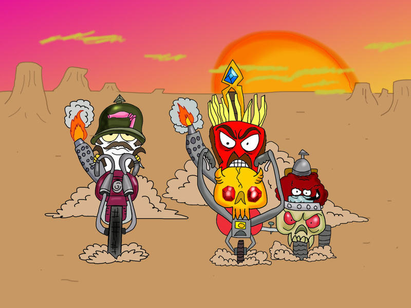 Meaty Rider by Makinita