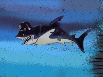 Nazi Shark by Makinita