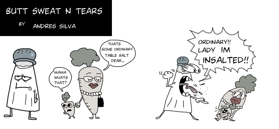 buttnutts and tears by Makinita